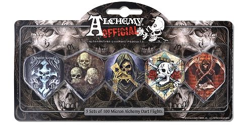 Karella Fly-Display, 5-Sets Alchemy Skulls