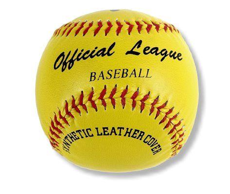 """Baseball/Teeball """"Soft"""", synthetisches Leder"""