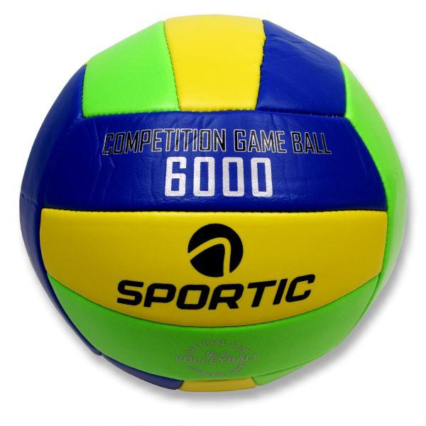 Volleyball, in offizieller Größe und Gewicht