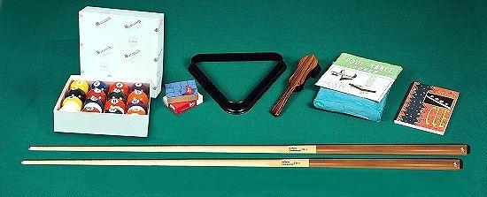 POOL-Tischzubehör-Set PROFI für Pool-Billardtische