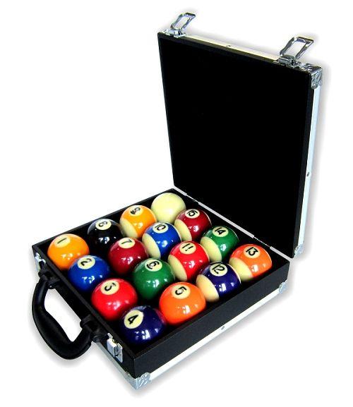 Koffer für Kugeln POOL, 16 Kugeln
