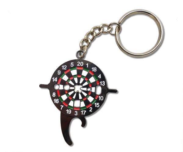 """Dartschlüssel """"Dartboard """" als Schlüsselanhänger"""