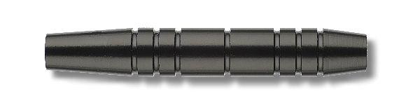 Softdart - Barrel, für Softspitze,schwarz eloxiert, Gewicht 16g, Länge: 52mm