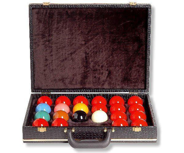 Koffer für Kugeln SNOOKER, 22 Kugeln