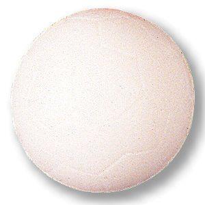 Kickerball Standard, weiß, 35 mm, glatt-schnell