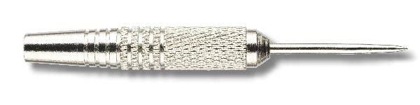 Steelbarrel Karella Eco Line EL-03, mit Metallspitze, Nickel/Silber eloxiert, Gewicht 19g, Länge: 50
