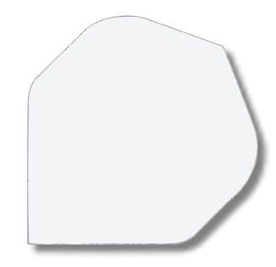 Dartfly Nylon, Standard,weiß
