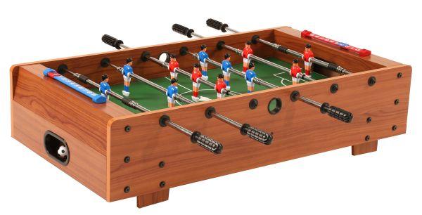 Fußballkicker MINI-KICKER. als praktische Tischauflage, mit Teleskopstangen (SA)