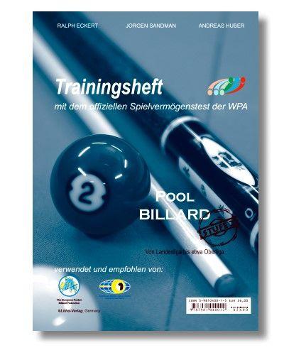 Trainingsheft Pool, WPA Stufe 2 , 72 Seiten