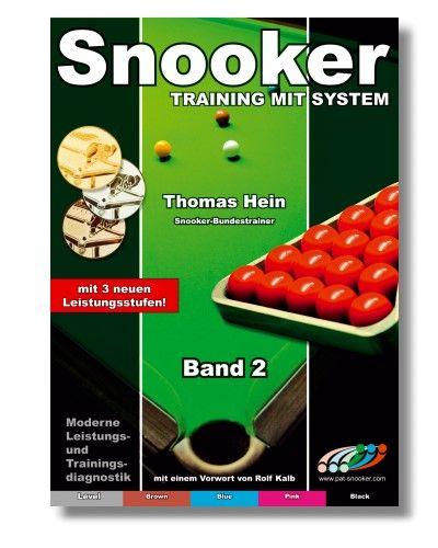Trainingsheft SNOOKER, STUFE 2, 68 Seiten