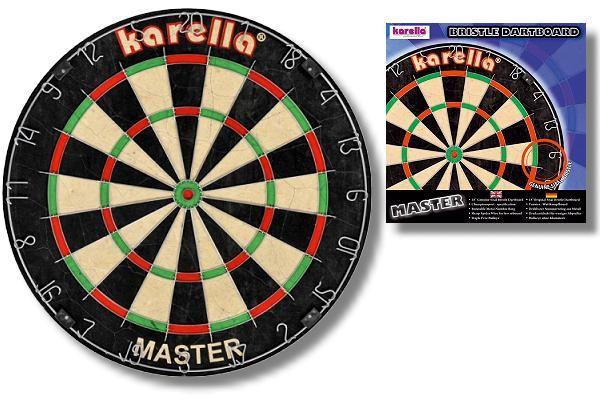 "Karella ""MASTER"" Wettkampf-Dartboard"