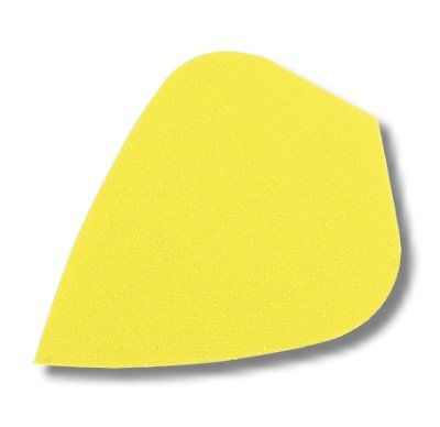 Dartfly Nylon Kite, neongelb