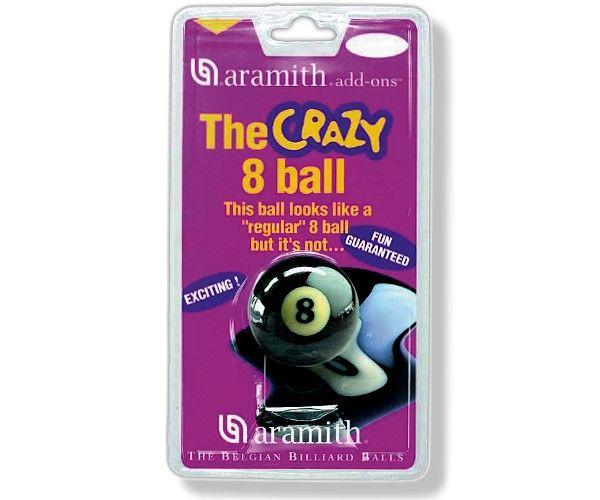 """Poolkugel ARAMITH """"CRAZY 8"""", 57,2mm, (Schwerpunkt nicht mittig zentriert)"""