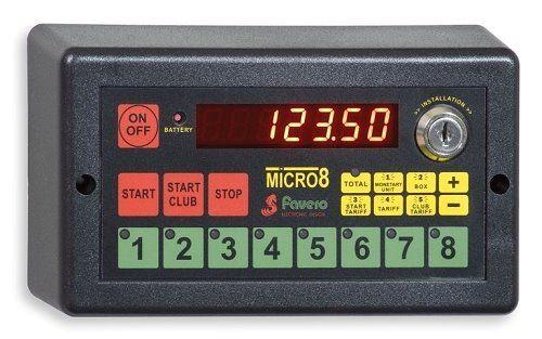 Micro 8 Zentral-Computer mit Druckeranschluß