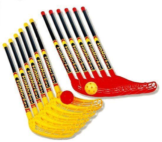 FunHockey ( Floorball ) Schläger - Spar - Set, ideal für den Schul- und Teamsport