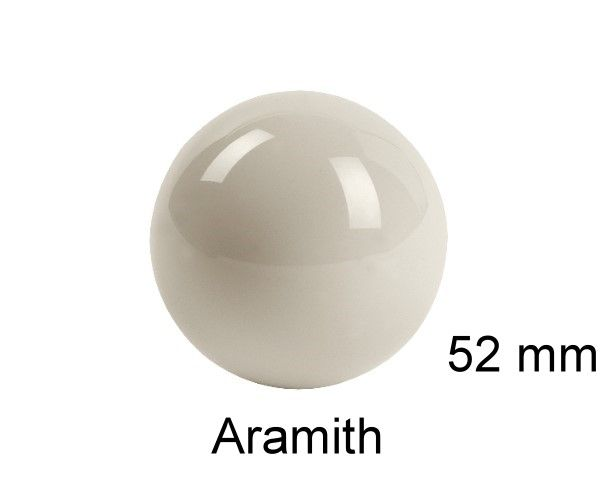 SNOOKER-Spielball ARAMITH 52 mm