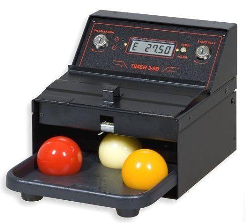 TIMER 3 B, Zeitabrechnungssystem für einen Karamboltisch