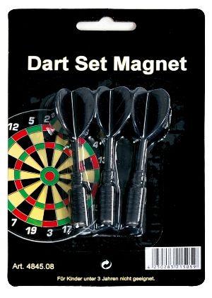 Magnet-Dart-Ersatzpfeile schwarz