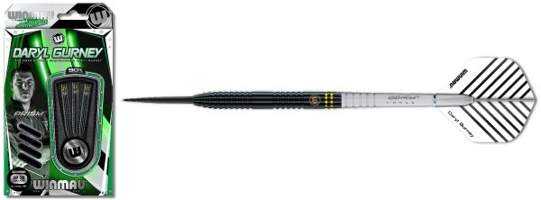 Winmau Daryl Gurney schwarz Steeldart Spezial Edition 1446 23 g oder 25 g