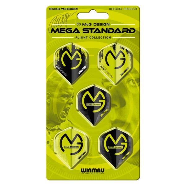 Fly-Pack Winmau MvG Mega Standard Kollektion 8121