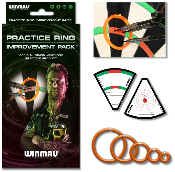 Winmau Simon Whitlock Practice Rings-Trainingsringe 8415
