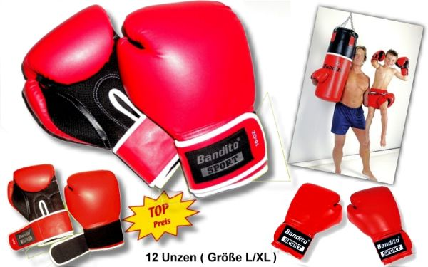 Boxhandschuh Bandito 12 Unzen, Größe L/XL