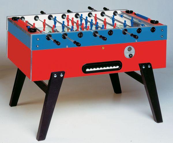 KICKER GARLANDO MASTER -CUP - SA mit Münzeinwurf, Dekor Blau rot