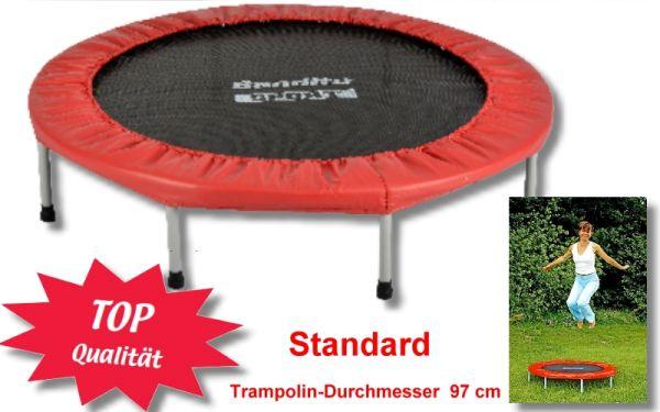 Bandito Trampolin STANDARD, für Indoor und Outdoor, DURCHMESSER 97 cm