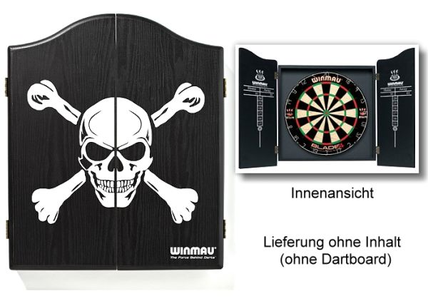"Dart-Cabinet WINMAU Modell ""SKULL"", 4001"
