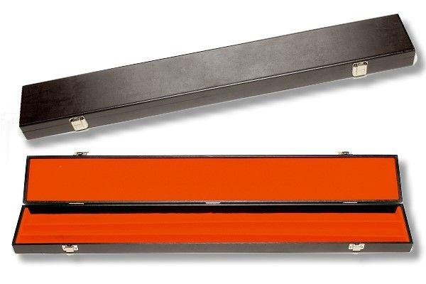 Snookerkoffer, Länge 82 cm, für alle Standard Queues = 1/1 (mittig geteilt)