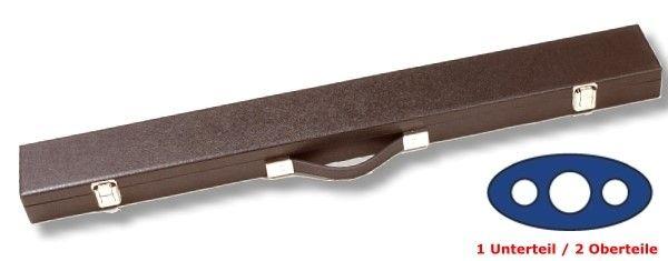 Queue-Koffer Deluxe, für 1 Unterteil / 2 Oberteile