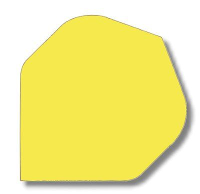 Dartfly Nylon, Standard, neongelb