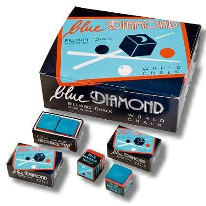 Kreide BLUE DIAMOND Großbox mit 25 kleinen Boxen mit je 2 Stck. blau