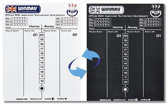 Scorerboard - Schreibtafel Winmau, 8658