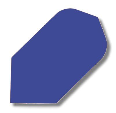 Dartfly Nylon Slim, blau