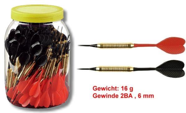 Softdarts in SUPER preiswerte Großpackung (100 Stck), 16 gr,
