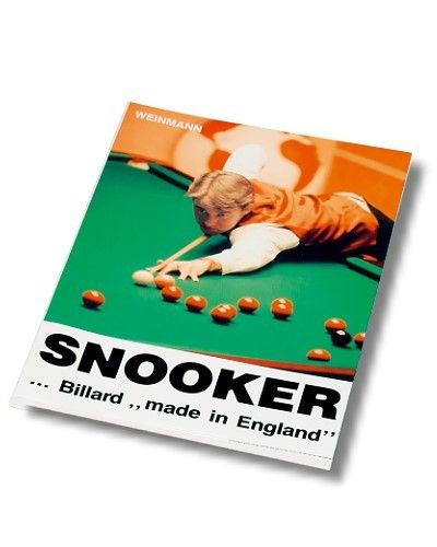 "Snooker...Billard ""Made in England"". 152 Seiten"