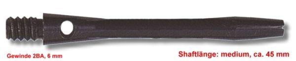 Shaft Alu medium ,ca.45 mm ,schwarz