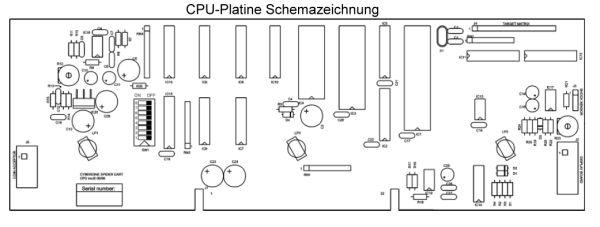 Ersatz-CPU-Platine für Dartautomat Karella E-Master