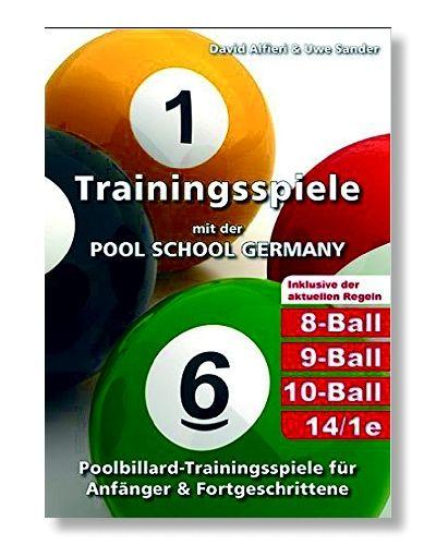 """""""Traningsspiele mit der Pool-School Germany """" , 256 Seiten, mit offiziellen Spielregeln"""