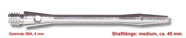 Shaft Alu medium ,ca.45 mm ,silber