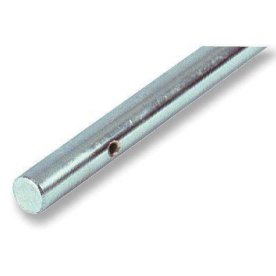 Kickerstange 16 mm, massiv voll, passend für alle geschraubten Figuren mit 16 mm Loch, die mit Gegen