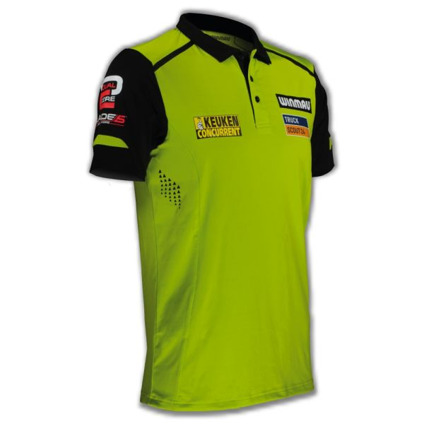 Dart Shirt Winmau MvG Pro-Line grün 8355