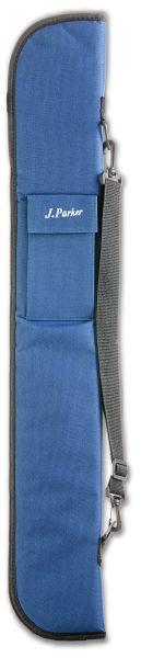 Queuetasche J.PARKER Ausführung für 1 Unterteil / 2 Oberteile, blau