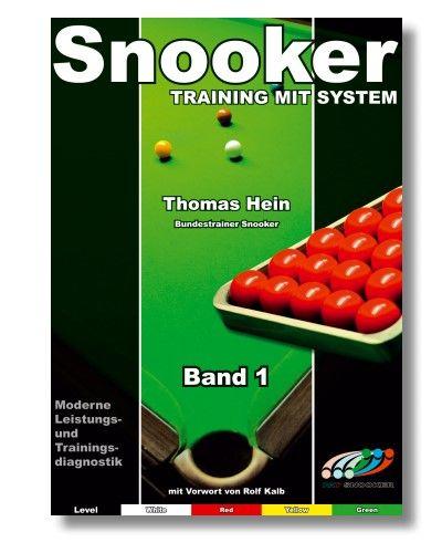 Trainingsheft SNOOKER, STUFE 1, 68 Seiten