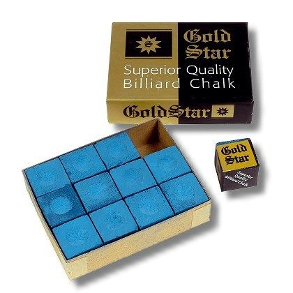 Kreide Gold Star BLAU (12 Stck.)